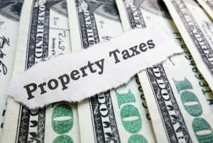Property Taxes money